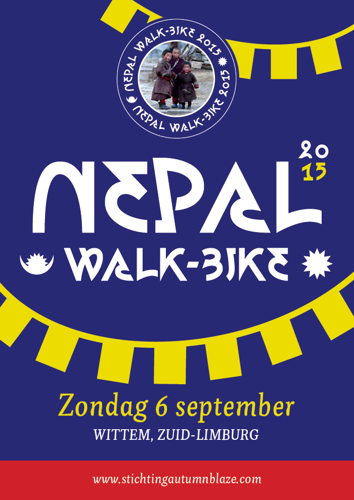 6 september 2015: NEPAL WALK & BIKE