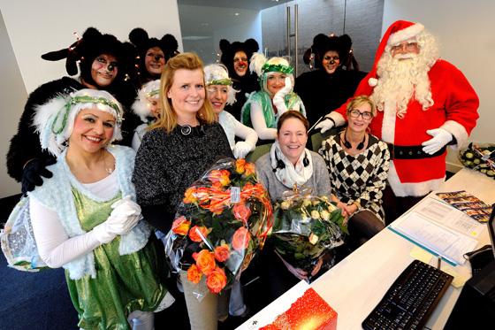 11 december 2015: Kerstman op bezoek in Zuyderland